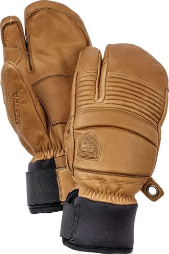 Hestra Leather Fall Line Ski 3 Finger Handschuh