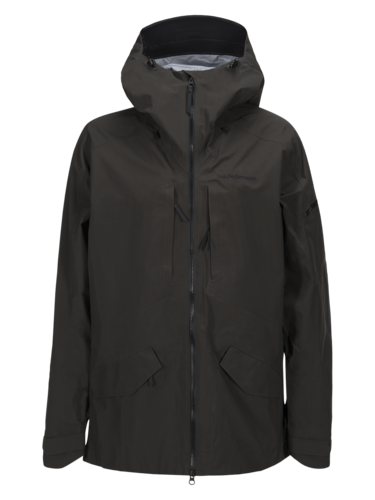 Peak Performance Teton Ski Jacket Olive Mens
