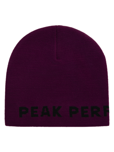 Peak Performance Logo Mütze Unisex Blood Cherry