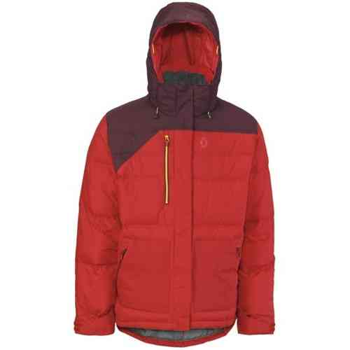 Scott Brady Down Jacket Red
