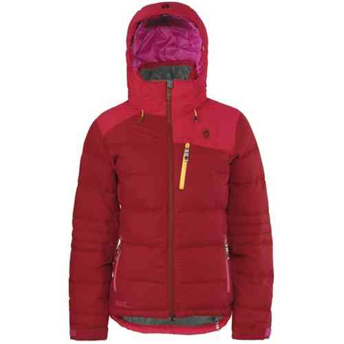 Scott Glissandra Woman Down Jacket Rio Red