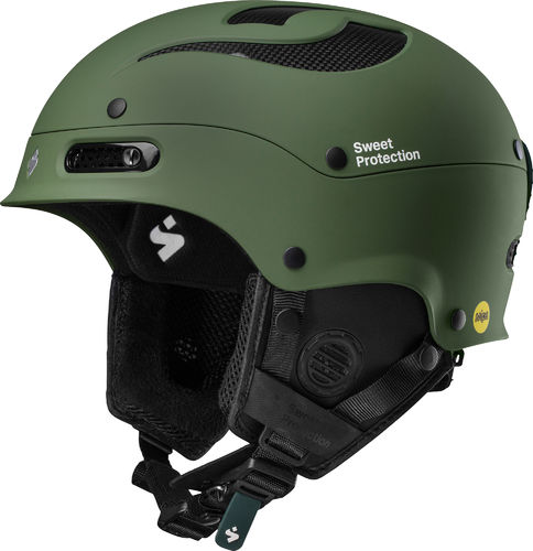 Sweet Protection Trooper II Helm MIPS Olive Drab